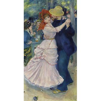Dance At Bougival,pierre-auguste Renoir Art Reproduction.impressionism Style Modern Hd Art Print Poster,canvas Prints Wall Art For Home Decor Pictures