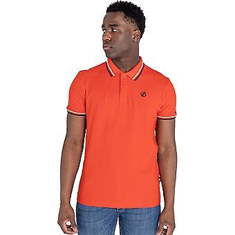 Dare 2b Herre Præcis Pique Bomuld Kortærmet Polo Shirt