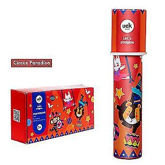 Diy Gyermek Kaleidoszkóp Poliprizmus Gyermektudományi Kísérlet Ismeretterjesztő játékok (piros)