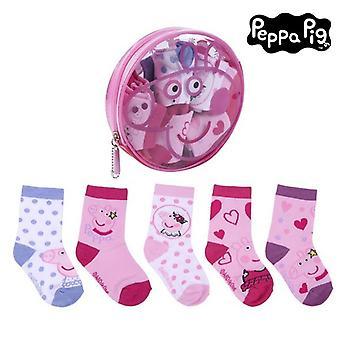 Socks Peppa Pig (5 pairs) Multicolour