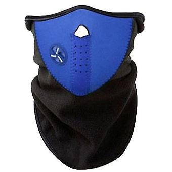 Moto bike outdoor riding dust mask, sun protection and UV protection riding mask(Blue)