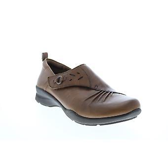 Tierra Adulto Mujer Amity Suave Cuero Slip En Zapatillas Loafer