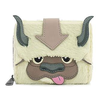 Loungefly Purse Avatar Aang Appa Cosplay plysch Officiell Nickelodeon Zip Around