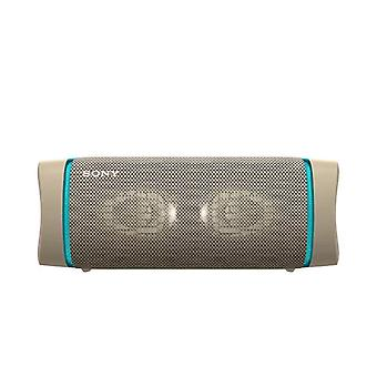 Sony SRS-XB43 – портативный, водонепроницаемый, мощный и долговечный беспроводной Bluetooth© динамик с ДОПОЛНИТЕЛЬНЫМ БАСом, до 24 часов автономной работы (серый)
