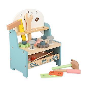 Banco per attrezzi in legno per simulazione per bambini