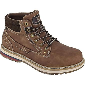 Route 21 Mens Eyelets Ankle Boots