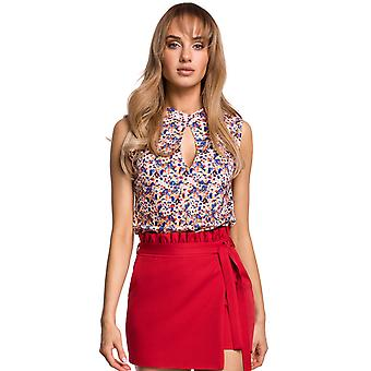 Made Of Emotion Women's M503 Blouse