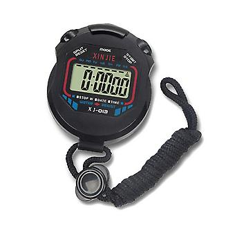 Professionelle Digitale Handheld LCD Timer Chronograph Sport Counter Stoppuhr mit Armband