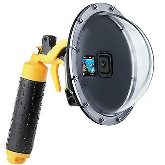 Boîtier de boîtier de couvercle de lentille de port de dôme de plongée étanche