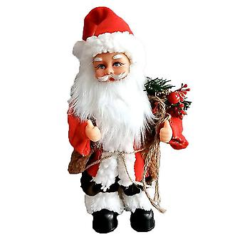 Electric Santa Claus Dancing Funny Christmas Dolls with Music Christmas Ornaments for Kids