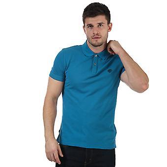 Menn Timberland Millers Slim Polo Skjorte i Blått