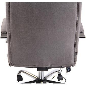 Toimistotuoli - Työpöytätuoli - Kotitoimisto - Moderni - Harmaa - Metalli - 63 cm x 72 cm x 114 cm