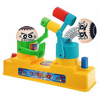 Pretend professions role playing double battle board interactive table game hammer robot novelty toys|gags practical jokes