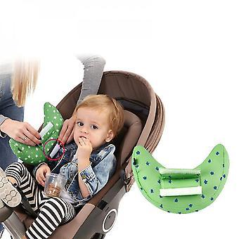 Lasten turvakaulatyyny autoihin (vihreä)