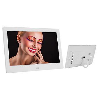 Digital Photo Frame Electronic Album Jscsm Jsc3897 10 Inch Picture Music Movie Full Functionwhite