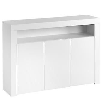High Gloss White Sideboard Display Cabinet