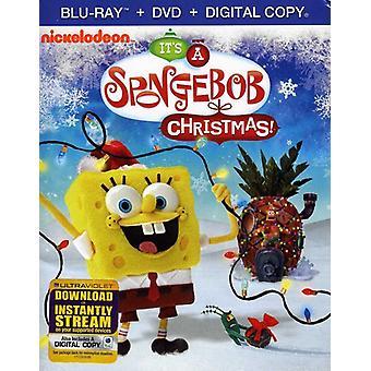 Spongebob Squarepants - It's a Spongebob Squarepants Christmas! [BLU-RAY] USA import