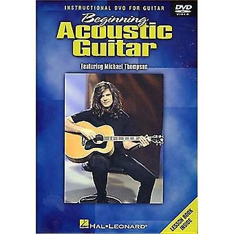 Débutant guitare acoustique [DVD] USA import