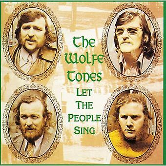 Wolfe Tones - låt folk sjunger [CD] USA import