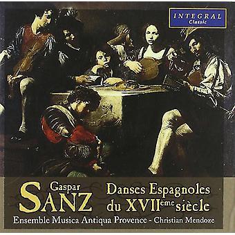Sanz - Danses Espagnoles Du Xviio [CD] USA importare