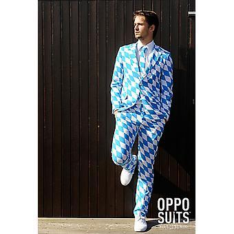 Bavarian Oktoberfest Bavarian slimline suit men's 3-piece premium EU SIZES