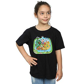 Disney Girls Zootropolis City T-Shirt