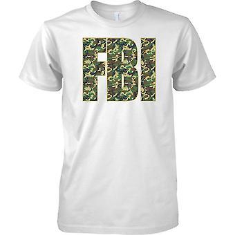 Federaal Bureau voor onderzoek-FBI politie-Camo effect--Kids T shirt