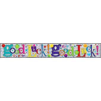 Simon Elvin Good Luck Foil Party Banner