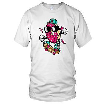 Donut Skater - kul Skate Surfer damer T skjorte