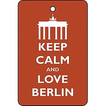 Keep Calm And Love Berlin Car Air Freshener