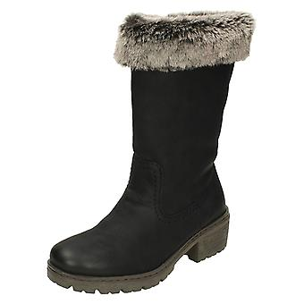 Damen Rieker Warm gefütterte Stiefel Y4590