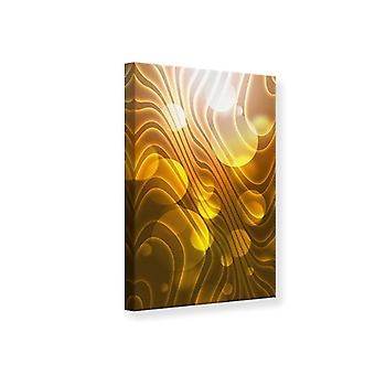 Canvas Print Abstract Spherical Waves