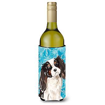 الكلب المتعجرف الألوان الثلاثة زجاجة النبيذ الشتاء بيفيرجي عازل نعالها