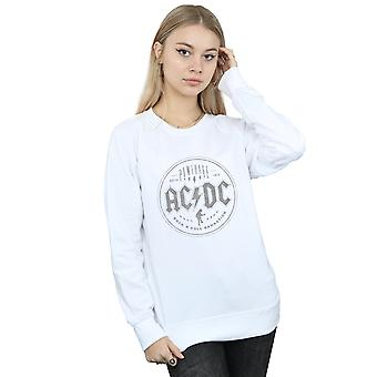 AC/DC Frauen Rock N Roll Damnation Sweatshirt schwarz