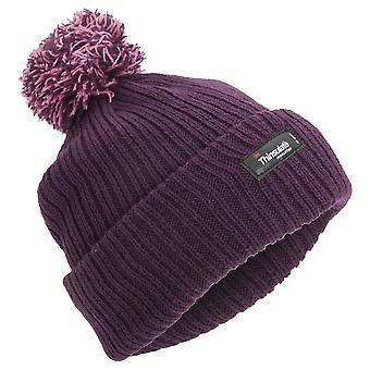 Childrens meninas térmico Thinsulate inverno Beanie chapéu com Pom Pom (3M 40g)