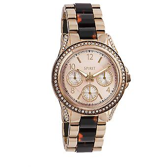Spirit Ladies Womens Rose Gold Tone Wrist Watch ASPL84X