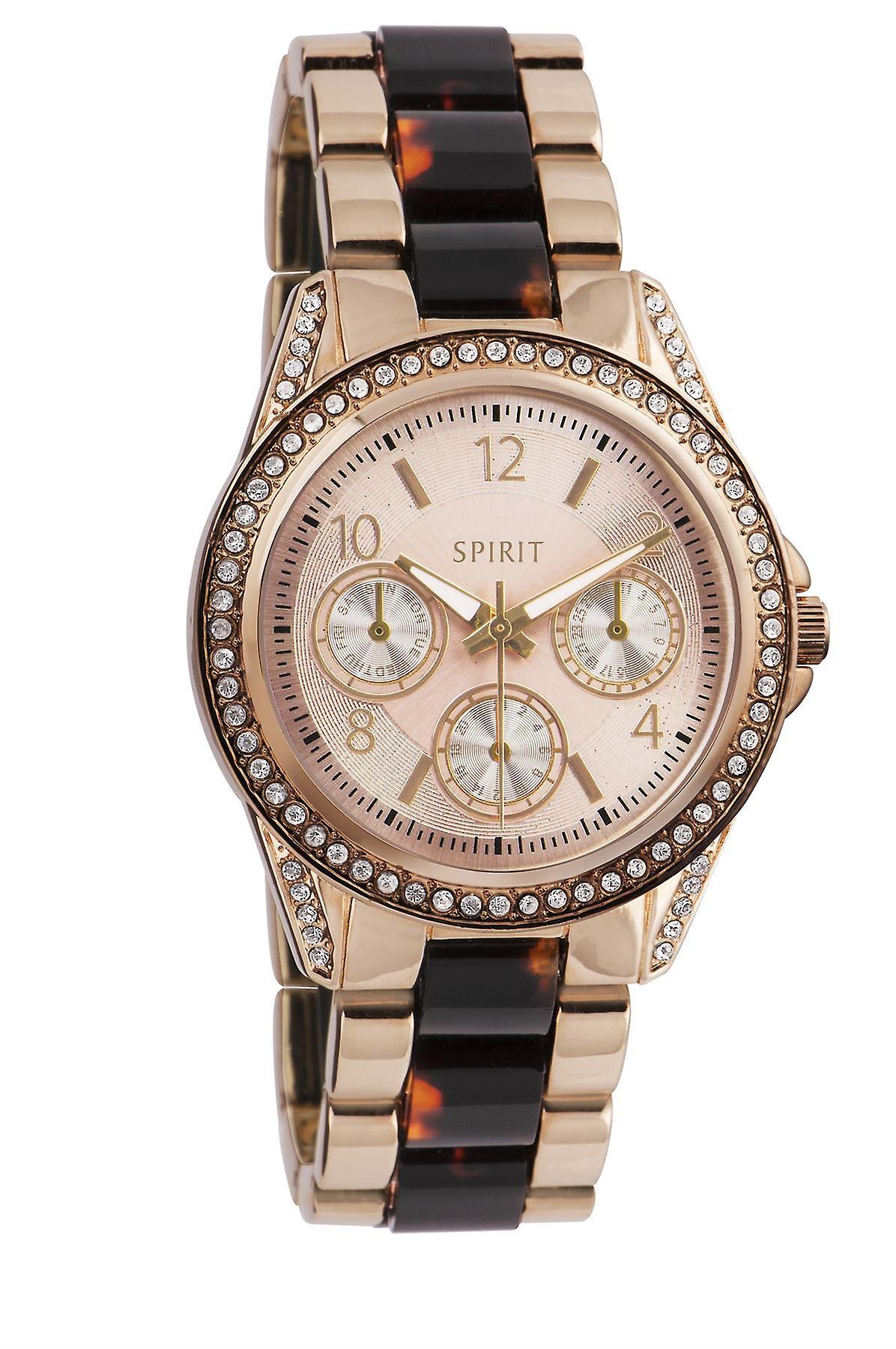 Esprit Mesdames Womens Rose Gold Tone Wrist Watch ASPL84X