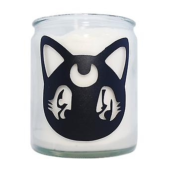 Extreme Largeness Moon Cat Candle