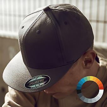 Flexfit flat visor fitted stretch fit Baseball Cap