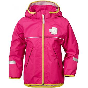 Didriksons Viskan Kids Waterproof Jacket - Fuchsia