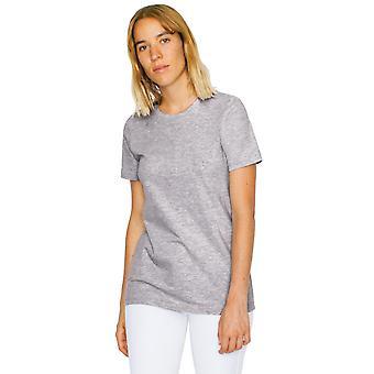 American Apparel mujeres/damas fino Jersey 100% algodón camiseta clásica