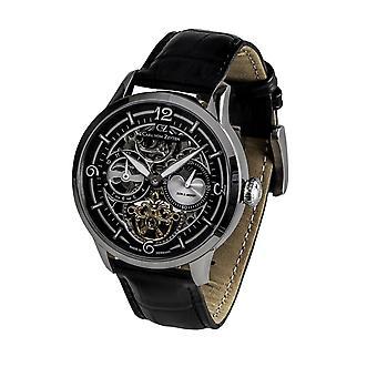 Carl of Zeyten men's watch wristwatch automatic field Lake CVZ0058BK