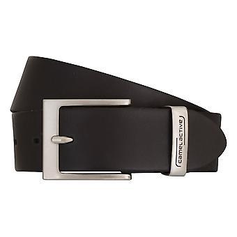 Ceintures cuir ceinture noir Camel active ceintures homme 6812