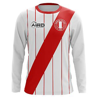 2018-2019 Peru Long Sleeve Home Concept Football Shirt