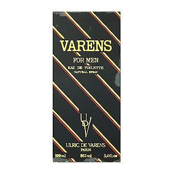 Ulric De Varens Varens For Men Eau De Toilette Spray 3.4Oz/100ml New In Box