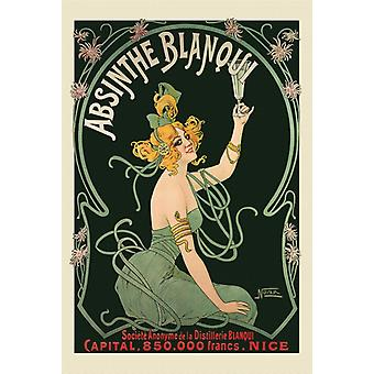 Nover Absinthe Blanqui Poster Print Poster Poster Print