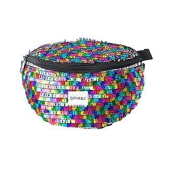 Spiraal Ritz regenboog buiktas in multi kleur
