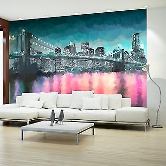 Wallpaper - Painted New York