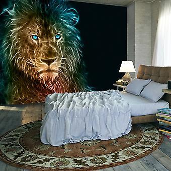 Fototapetti - Abstract lion