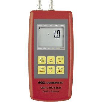 Greisinger GMH3181-002 paine mitata ilmanpaine, ei-syövyttävä kaasu, syövyttävä kaasu-0.005 - +0.005 Baari